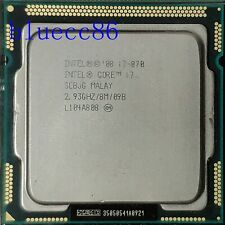 Intel Core i7-870 Quad Core 2.93GHz 8MB  95W SLBJG 95W LGA1156  CPU Processor