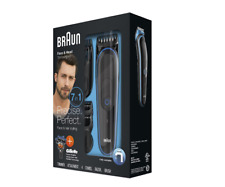 GENUINE Braun - Multigroom 3045 Trimmer with 4 Guide 7 In 1 Combs - MGK3045