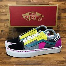 Vans Old Skool Juxtapoze Pack (Women's Size 8.5) Athletic Skate Sneaker Shoes