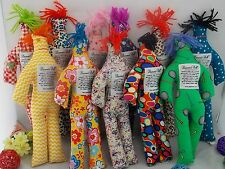 """4Pcs Dammit Doll - Random Pattern Color Stress Relief Plush Toy Party Gift 12"""""""