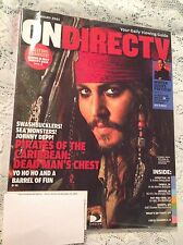 JOHNNY DEPP ON DIRECTV MAGAZINE JANUARY 2007 TV GUIDE COLLECTORS COVER