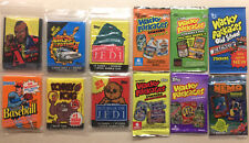 Lot 17 Variety Tv, Movie, More Wax Packs, Foil Packs, Other - All Factory Sealed