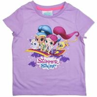 Size 4-5 Brand New Shimmer /& Shine Gift Snuggle Slippers