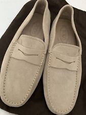 MENS TODS GOMMINO SUEDE DRIVING SHOES - 7.5UK/41.5EU