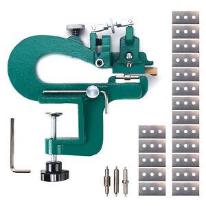 US Leather Craft Splitter Edge Skiving Peeler Paring Cut Peeling Machine Skiver