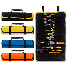 Portable Wrench Screwdriver Tool Roll Spanner Case Storage Bag Up Fold Oxford