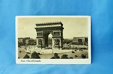 Inglourious Basterds 'Paris L'Arc de Triomphe' postcard Movie Prop