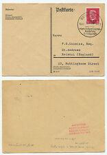13274 - Mi.Nr. 445 - Sonderstempel Berlin 13.9.1930 - Postkarte nach Bristol