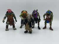 Bundle Of Teenage Mutant Ninja Turtle Figures X5-Playmates 2014