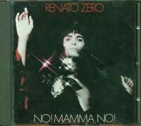 Renato Zero - No Mamma No! Vecchia Stampa Rca Cd Ottimo