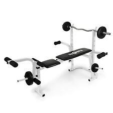 Panca Pesi Bilanciere Addominali Attrezzi Allenamento Palestra Fitness Workout