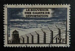 Timbre poste. France. n°1023. anniversaire de la libération des camps.