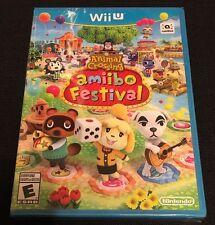 Animal Crossing: Amiibo Festival (Nintendo Wii U) FACTORY SEALED Lot