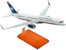 US Airways Boeing 757-200 N605AU Desk Top Display Jet Model 1/100 ES Airplane