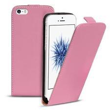 Flip Case Apple iPhone 5C Hülle Pu Leder Klapphülle Handy Tasche Cover Rosa