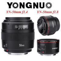 Yongnuo 50mm F1.8II/F1.4 Large Aperture AF MF Full Frame Lens for Canon DSLR