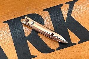 Antique Parker 51 Fountain Pen Fine 14k Gold NIb PART, 1946, USA (#CM416)
