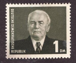 Sc# 120a  - DDR  Germany - 1953 - President W. Pieck - MH VF -  superfleas cv23