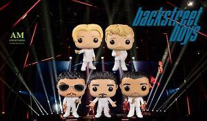 Funko Pop Rocks - Set Completo - Backstreet Boys - Figure Nuovo / Conf. Orig.