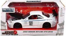 Véhicules miniatures blancs Nissan 1:24