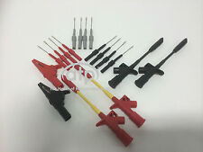 AUTO ELECTRICIANS TEST KIT, PIERCING PROBES, BACK PROBES, CROCODILE CLIPS