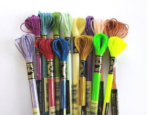 DMC EFFECTS 1 Skein PICK YOUR COLORS Jewel, Light, Pearlescent, Neon & More...