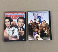 Groundhog Day DVD Bill Murray And Best in Show Comedy Bundle Movies Lot