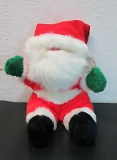 "1991 THE SUMMIT COLLECTION ""HEARTWARMERS"" STUFFED / PLUSH SANTA CLAUS"