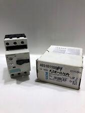 Siemens Leistungsschalter 3RV1011-0GA10 Motorschutzschalter NEU OVP