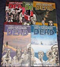 WALKING DEAD Trade Paper Back #2,3,4,5 +Survivor's Guide by Robert Kirkman