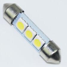 10X 36mm 3 SMD 5050 LED Auto Lampe 12V Kalteweiß Kennzeichenbeleuchtung Dachlich