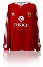 Gareth Thomas Handsigniert British Lions Shirt AFTAL Foto-beweis COA Wales Rugby