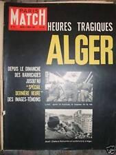 PARIS MATCH N° 565 Darrieux Algérie Gaugin Jaccoud