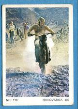 MOTO - Ed. Raf - Figurina/Sticker n. 119 - HUSQVARNA 400 -Rec