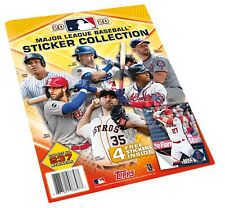 2020 Topps MLB Baseball Stickers Collection Album