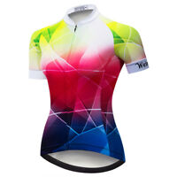 Women's Cycling Jersey Clothing Bicycle Sportswear Short Sleeve Bike Shirt  D08