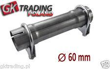Exhaust repair pipe kit 60mm Repair your Mufflers Silencer Box Down PIPE Flexi!