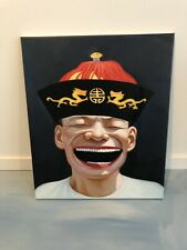 Yue Minjin Contemporary Chinese Art Laughing Man Replica