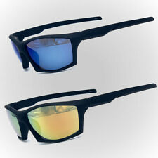 New Men Sport Sunglasses Outdoor Mirror Wrap Around Driving Eyewear Glasses Us