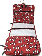 Vera Bradley - Hanging Organizer - Playful Penguins Red - 15829  Travel Cosmetic
