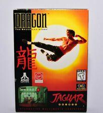 Dragon the Bruce Lee Story Atari Jaguar Complete in Box
