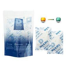 "20 gram X 5 PK ""Dry & Dry"" Food Grade Orange Indicating Silica Gel Packets"