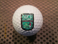LOGO GOLF BALL-MCI CLASSIC...THE HERITAGE OF GOLF...FORMER PGA TOUR EVENT..RARE!