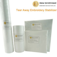 Medium Weight 1.8oz Tear Away Embroidery Machine Stabilizer