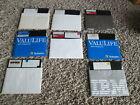 """8 Vintage Dos Software 5.25"""" (5 1/4) Floppy Disk PCJR 2.1/3.2/Don's/Patch/Tutor"""