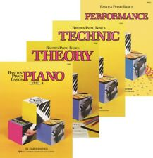 Bastien Piano Basics Level 4  Four-Book Pack (Lesson/Theory/Performance/Technic)
