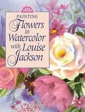Painting Flowers in Watercolor with Louise Jackson by Louise Jackson