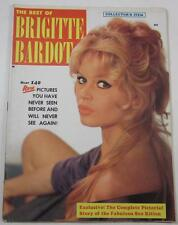 THE BEST OF BRIGITTE BARDOT MAGAZINE 1959 LINCOLN SQUARE PUBL OVER 140 PICS