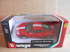 Vintage - FERRARI CHALLENGE STRADALE - Car Model 1:43 Die Cast Burago [MZ5]