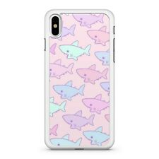 Blue Pink Colourful Baby Sharks Sea Ocean Animals Pattern Fine Phone Case Cover